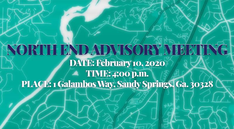 North End Advisory Meeting